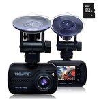 TOGUARD Mini 1080P Auto Kamera Auto DVR Kamera Dashcamera Recorder Eingebauter G-Sensor Bewegungserkennung Loop Recorder Nachtsicht (16GB Micro SD-Karte inklusive)