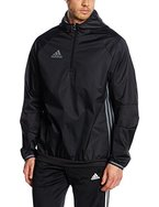 adidas Herren Jacke Condivo 16 Windbreaker, Black/Vista Grey S15, L, AN9860