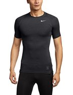 Nike Herren Unterhemd Pro Cobat Cool Compression SS, Black/Dark Grey/White,M,703094