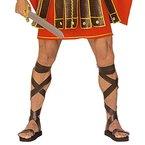 Römer Sandalen Centurion Gladiatorsandalen braun Römersandalen Gladiatoren Sandalen Römer Schuhe Kostüm Accessoire