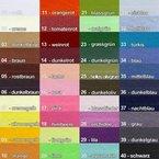 Schrägband, 10 Meter, 19 mm breit in 40 Farben, Baumwolle BW / Farbe: 40