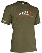 VOLLEYBALL EVOLUTION - HERREN - T-SHIRT in Army by Jayess Gr. L
