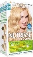 Garnier Nutrisse Creme Coloration Sommer-Blond 100 / Färbung für Haare für permanente Haarfarbe (mit 3 nährenden Ölen) - 1 Stück