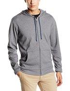 Palmers Herren Schlafanzugoberteil Homewear Jacke mit Kapuze Cocooning Men, Gr. X-Large, Grau (GRAUMELE 953)