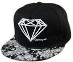 Alralel Kappe Baseball Cap Mütze - viele Farben zur Wahl blackXBMY0629