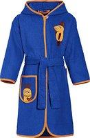 Playshoes Jungen Bademantel Frottee DIE MAUS, Gr. 98 (Herstellergröße: 98/104), Blau (marine 11)