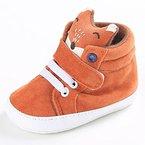 Babyschuhe Longra Baby Mädchen Jungen Fuchs hoch Hilfe Schuhe Sneaker Anti-Rutsch weiche Sohle Kleinkind lauflernschuhe krabbelschuhe (13cm)