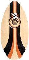 Skim One Encinitas Holz-Skimboard 105 cm Orange - orange