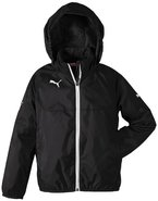 PUMA Kinder Jacke Rain Jacket, black-white, 176, 653968 03
