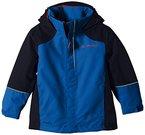 VAUDE Unisex - Kinder Racoon Jacke, hydro blue, 104, 05517