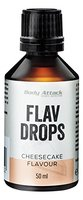 Body Attack Flav Drops, Käsekuchen, 1er Pack (1 x 50 ml)