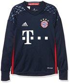 adidas Jungen Torwart/Heim FC Bayern München Replica Trikot, Night Indigo/Red/Night Marine, 140