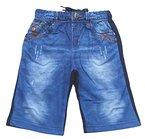 Bequeme Sweatshorts, Shorts, in dunkel Blau, Gr. 110/116, J115.6e