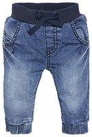 Noppies Unisex - Baby Jeans U Comfort, Einfarbig, Gr. 68, Blau (Stone Wash C295)