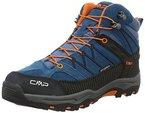 CMP Unisex-Kinder Rigel Trekking-& Wanderstiefel, Blau (DENIM L580_11), 34 EU