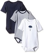 NAME IT Baby-Jungen Body NITBODY SS M B NOOS, 3er Pack, Gr. 98, Blau (Dress Blues)