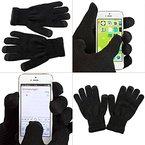 iProtect Premium Touchscreen Handschuhe - für Geräte wie Apple iPhone 5 HTC One Samsung S4 und alle weiteren Smartphones - in schwarz