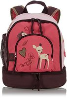Lässig Mini Backpack Kinderrucksack Kindergartentasche, Brotdosenfach unten, Little Tree Fawn