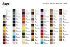 Schuhcreme Auf Basis von natürlichen Wachsen. Reinigt, pflegt 83 farben Delicate Cream KAPS (107 gelb)