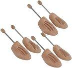 DELFA Holz Spiralfeder Schuhspanner (Set von 3 Paar) (42/43)