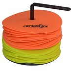 Floormarker 15 cm 24'er SET_orange und gelb von athletiKor ®