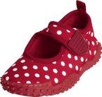 Playshoes Aquaschuhe, Badeschuhe Punkte mit höchstem UV-Schutz nach Standard 801 174776, Mädchen Aqua Schuhe, Rot (original 900), EU 18/19