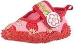 Playshoes Badeschuhe Erdbeeren mit höchstem UV-Schutz nach Standard 801 174757, Mädchen Aqua Schuhe, Pink (original 900), 18/19 EU