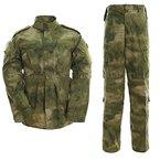 ALK Softair Paintball Tarn-Uniform Set, Jacke/Hose, A TACS FG, M