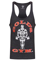 Goldsgym Muscle Joe Premium Tank Top, M grau - Charcoal Marl