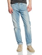 Q/S designed by Herren Straight Leg Jeanshose 5 - Pocket, Gr. W32/L32 (Herstellergröße: 32), Blau (denim 54Y6)
