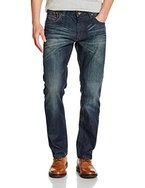 s.Oliver Herren Straight Jeans Hose Regular, Blau (Blue Denim Stretch 56z9), W34/L36