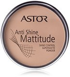 Astor Anti Shine Mattitude Powder, Farbe 3 Nude Beige, 1er Pack (1 x 14 g)