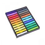 HAIRCHALKIN® 24 Farben Ungiftige Haartönung, Kalk Tönung - Weiches Pastell Salon-Kit
