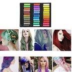 MCTECH Haar Kreide Haarfarb Haarkreide 36 Färben Haartönung Farben Hair Chalks Non-Toxic Fashion (36 Farbe-KURZ)