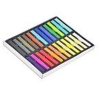 24 Farben ungiftige Haartönung, Kalktönung - weiches Pastell Salon-Kit [version:x6.7] by DELIAWINTERFEL