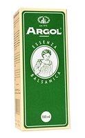 Argol - Mischung 8 ätherischer Öle plus natürlicher Menthol, bekämpft Bakterien und Viren bei Erkältung, erwärmt, entspannt, entkrampft Magen-Darm, behebt lokale Schmerzen bei Migräne, Rheuma, Arthritis, 100ml