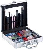 Sichler Beauty Profi-Kosmetikkoffer mit fünf Schminksets (38 Teile)