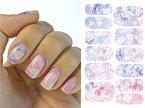 Kompletter Wrap Nail Art Wasser Transfer Aufkleber Sticker K5711B - K5711B Nail Sticker Tattoo - FashionLife