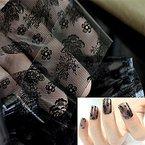 Nail Art Folien Nail Sticker Folie Tipp Dekoration Folie Transferfolie Nagelfolie Zauberfolie Nägel # 40 - FashionLife