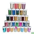 ANKKO neueste Mode 25 Farben Nail Art Transfer Folie Nail Sticker Tipp Dekoration aus Y2B