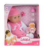 Simba 105140488 - My Love Laura Babysprache, Weichpuppe