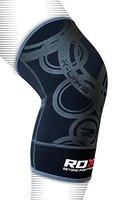 RDX Elastische Kniestütze Sport Knieschoner Kniebandage Knieorthese Knieschützer (Das Paket Enthält Einzelstück) Gr. S/M