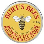 Burt's Bees 100% Natural Lip Balm Tin, Beeswax (in der traditionellen Dose), 1er Pack (1 x 8,5 g)