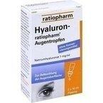 Hyaluron-ratiopharm Augentropfen, 2X10 ml