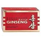 Koreanischer Reiner Roter Ginseng - Kapseln - Monatskur, 200 Stk
