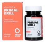 Krill Öl PRIMAL KRILL (Omega-3-Öl, EPA, DHA und Astaxanthin) | Nachhaltiger Antarktis Wildfang | Unterstützt Gehirn, Herz und Augen | 60 Kapseln á 500mg