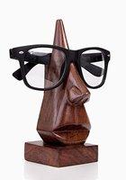 Klassische Hand geschnitzte Rosenholz-Nasen-geformter Brille Brillenhalter