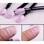 Born Pretty 1Doppel Quarz Nagelhautentferner waschbar Pusher die abgestorbene Haut Trimmer Maniküre Nail Art Werkzeug