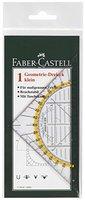 Faber-Castell 177091 - Geometrie-Dreieck klein, 14 cm