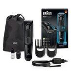 Braun HC5050 Haarschneider (Haarschneidemaschine einsetzbar als Barttrimmer und Körpertrimmer, keine Folgekosten) schwarz